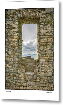 Harlech Cloud Metal Print by R Thomas Berner