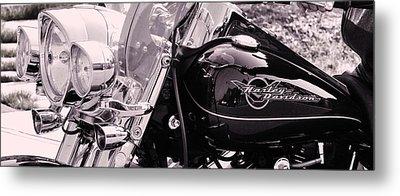 Harley Davidson Road King  Motorcycle Metal Print