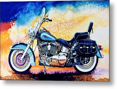 Harley Hog I Metal Print