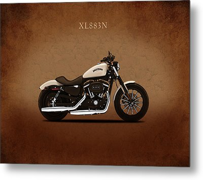 Harley Sportster Iron Metal Print by Mark Rogan