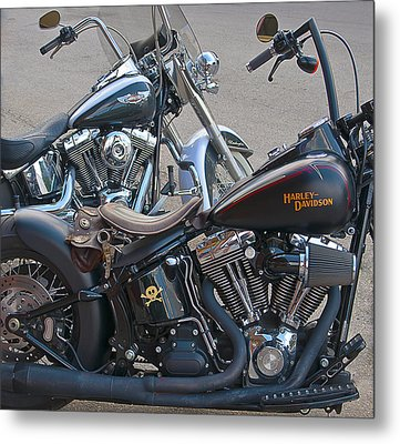 Harleys Metal Print