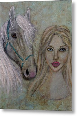 Harmony Metal Print by The Art With A Heart By Charlotte Phillips