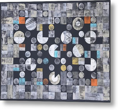 Harmony Of Earth And Moon Metal Print by Diana Perfect