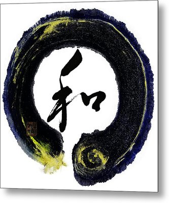 Harmony - Peace With Enso Metal Print