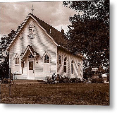 Harmony School Metal Print by Edward Peterson