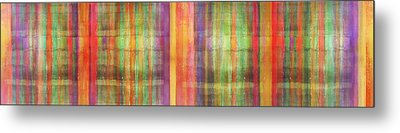 Harmony Stripes Metal Print by Ab Stract