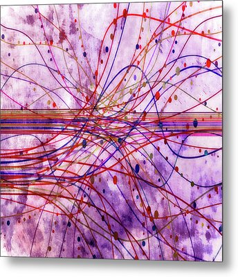 Metal Print featuring the digital art Harnessing Energy 2 by Angelina Vick