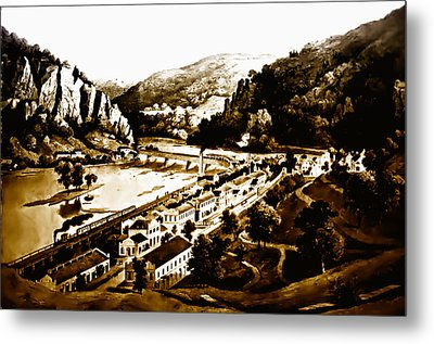 Harpers Ferry Metal Print by Bill Cannon