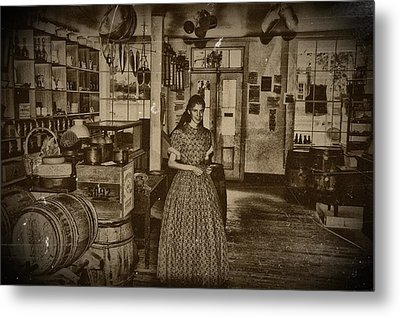 Harpers Ferry General Store Metal Print by Bill Cannon