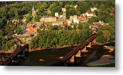 Metal Print featuring the photograph Harpers Ferry by Mitch Cat