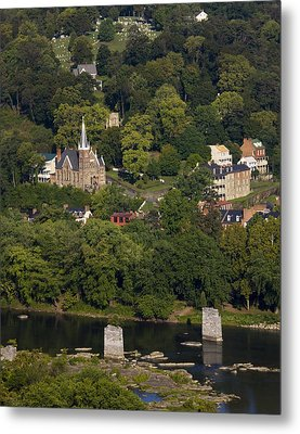 Harpers Ferry West Virginia On The Banks Of The Shenandoah And Potomac Rivers Metal Print