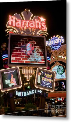 Harrahs Metal Print by Andy Smy