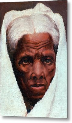 Harriet Tubman, African-american Metal Print by Photo Researchers