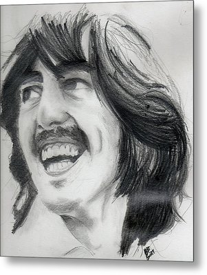 Harrison's Smile Metal Print by Matt Burke