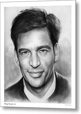 Harry Connick, Jr. Metal Print by Greg Joens