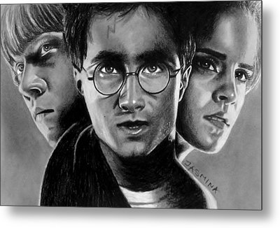 Harry Potter Fanart Metal Print by Jasmina Susak