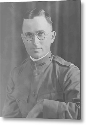 Harry Truman During World War One Metal Print by War Is Hell Store