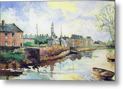 Harrys  Mall -limerick-ireland Metal Print by Paul Weerasekera