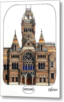 Harvard Metal Print by Frederic Kohli