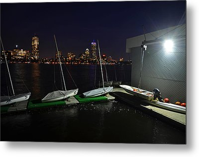 Harvard University Sailing Center Metal Print