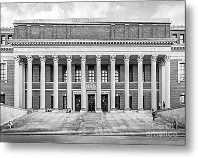 Widener Library At Harvard University Metal Print by University Icons