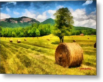 Harvest At Table Rock Metal Print