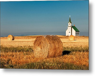 Harvest Church Metal Print