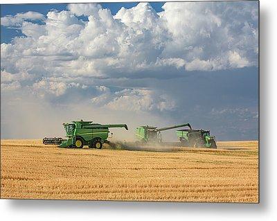 Harvest Clouds Metal Print by Todd Klassy