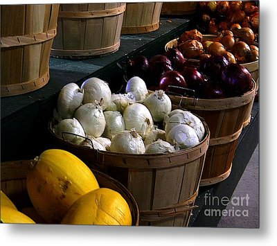 Metal Print featuring the photograph Harvest by Elfriede Fulda