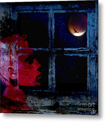 Metal Print featuring the photograph Harvest Moon by LemonArt Photography