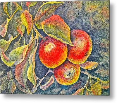 Harvest Time Metal Print by Carolyn Rosenberger