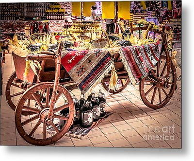 Harvest Time Metal Print by Claudia M Photography