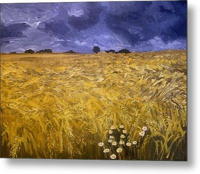 Harvest Time Metal Print by Mats Eriksson