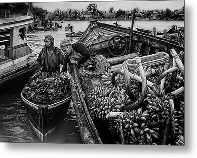Harvest Transaction Metal Print