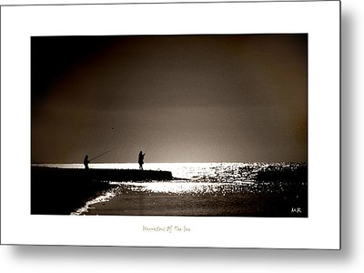 Metal Print featuring the photograph Harvester Of The Sea by Martina  Rathgens