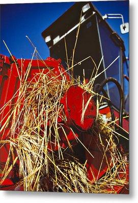 Harvesting Metal Print by Meirion Matthias