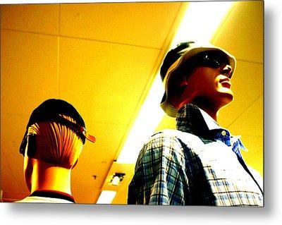 Hat N Cap Metal Print by Jez C Self