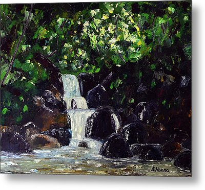 Hatcher Pass Creek Metal Print