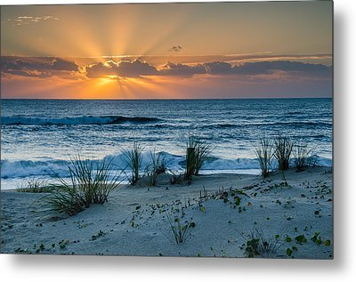 Hatteras Dawn Metal Print by Eric Albright