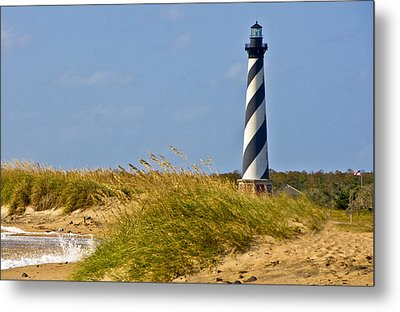 Hatteras Lighthouse Metal Print by Ches Black