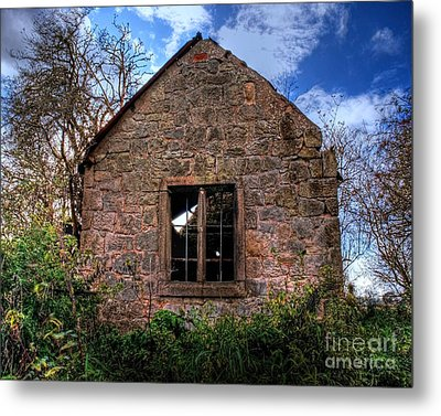 Haunted House Hdr Metal Print by Chris Smith