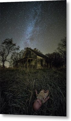 Haunted Memories Metal Print by Aaron J Groen