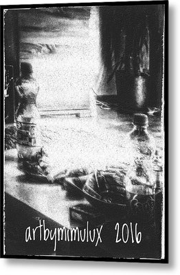 Metal Print featuring the photograph Haunted Room I by Mimulux patricia no No