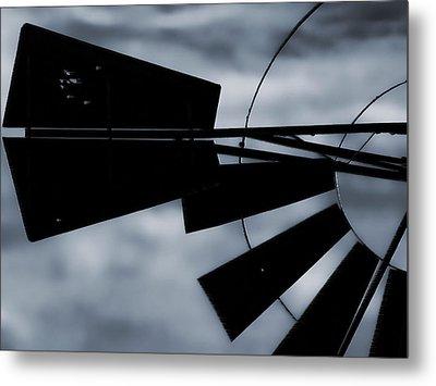 Haunted Windmill Metal Print by Tony Grider