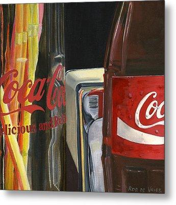 Have A Coke... Metal Print
