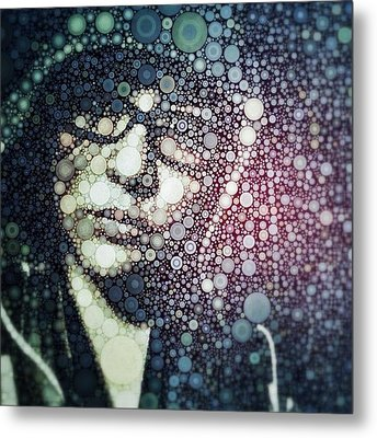 Having Some #fun With #percolator :3 Metal Print