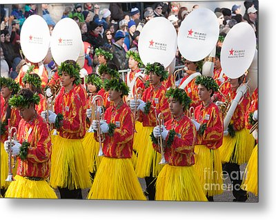 Hawaii All-state Marching Band I Metal Print by Clarence Holmes