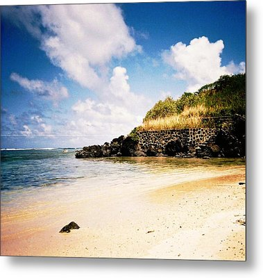 Hawaii Beach View Metal Print
