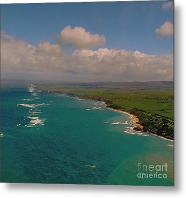 Metal Print featuring the photograph Hawaii From Above by Louise Fahy