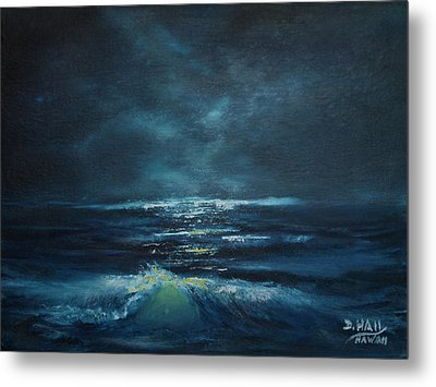 Hawaiian Enchanted Sea #431 Metal Print by Donald k Hall